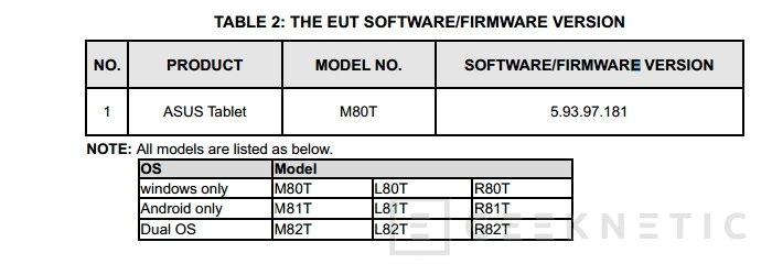 Se filtra un nuevo tablet de ASUS con dual boot de Android y Windows, Imagen 1