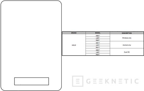Se filtra un nuevo tablet de ASUS con dual boot de Android y Windows, Imagen 2