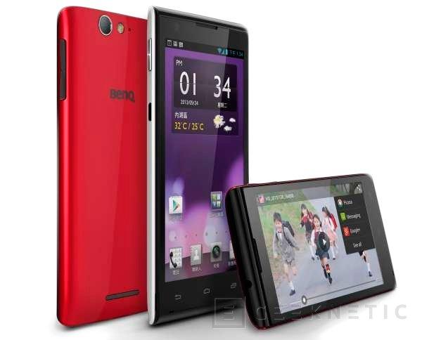 BenQ presenta dos nuevos smartphones con Android, Imagen 2