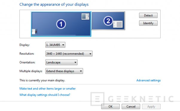 Dell U3415W, un nuevo monitor ultra panorámico de alta resolución, Imagen 2