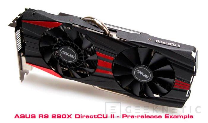 ASUS también trabaja en la versión DirectCU II de la Radeon R9 290X, Imagen 1