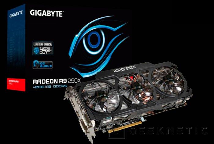 Gigabyte también muestra su R9 290X personalizada, Imagen 2
