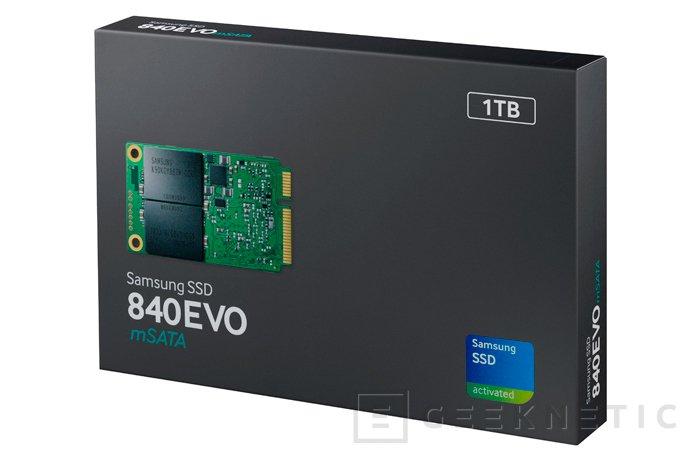 Samsung 840 EVO, llegan los primeros SSD de 1 TB en formato mSATA, Imagen 2