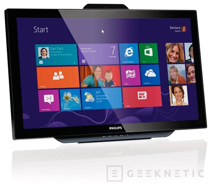 Philips Brilliance 231C5TJKFU, monitor IPS con tecnología táctil, Imagen 1