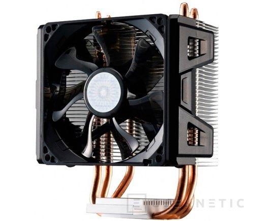 Cooler Master Hyper 103, disipador con heatpipes en contacto directo con la CPU, Imagen 1