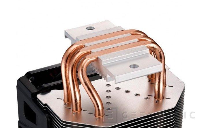 Cooler Master Hyper 103, disipador con heatpipes en contacto directo con la CPU, Imagen 2