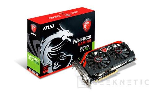 MSI también presenta una GTX 780 Ti personalizada., Imagen 1