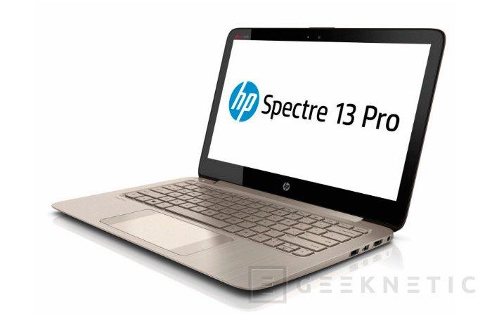 HP Spectre 13 Pro, Ultrabook de 13 pulgadas con 2560 x 1440 píxeles de resolución, Imagen 1
