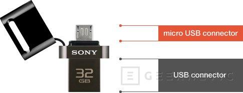 Sony presenta unas memorias USB para móviles, Imagen 2