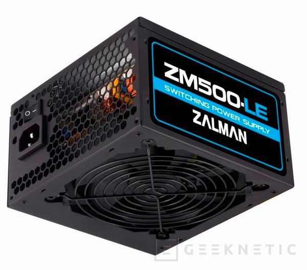 Zalman ZM-T3-500LE, torre