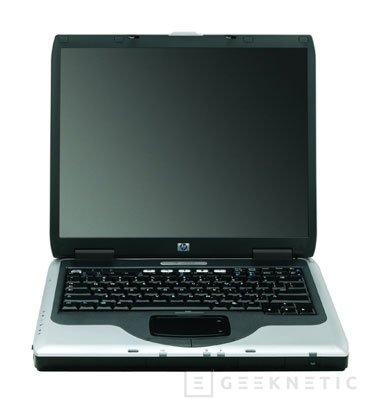 Nuevos portátiles HP nx9000, Imagen 2