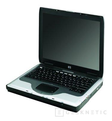 Nuevos portátiles HP nx9000, Imagen 3