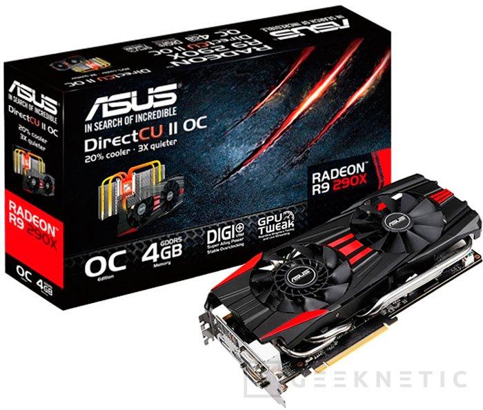 ASUS lanza finalmente su Radeon R9 290X DirectCU II OC, Imagen 2