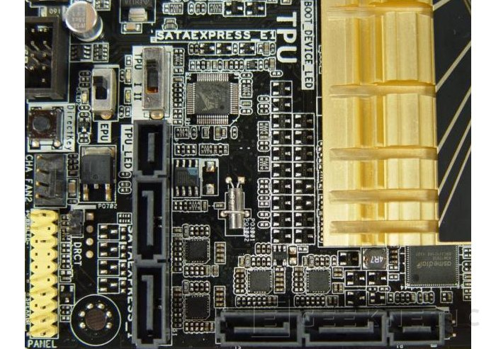 Asus introduce su primer prototipo con SATA-Express, Imagen 1