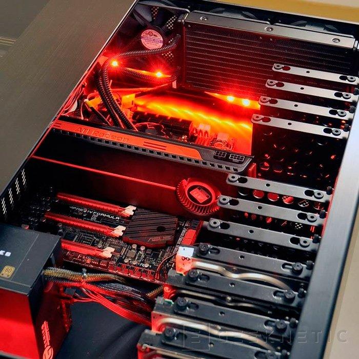 Lian Li DK01, curiosa torre de PC integrada en una mesa, Imagen 2