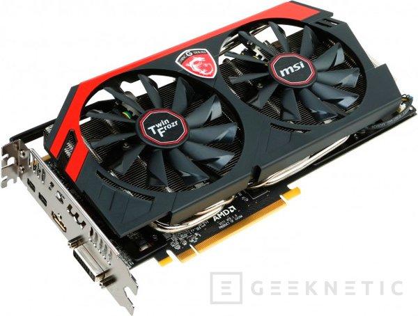 MSI añadirá 6 GB de memoria a su R9 280X GAMING, Imagen 1