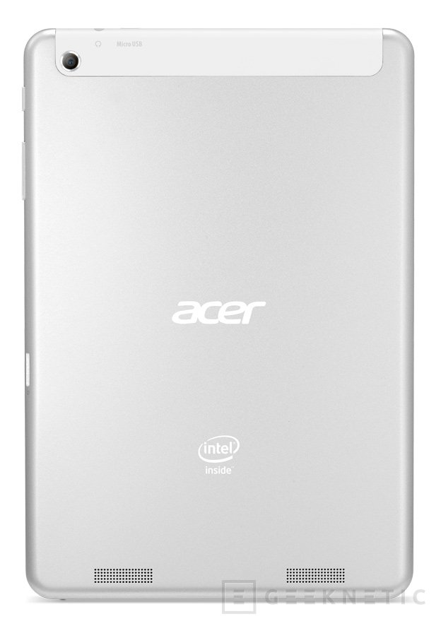 Acer Iconia A1-830, tablet Android con procesador Intel Clover Trail+, Imagen 2