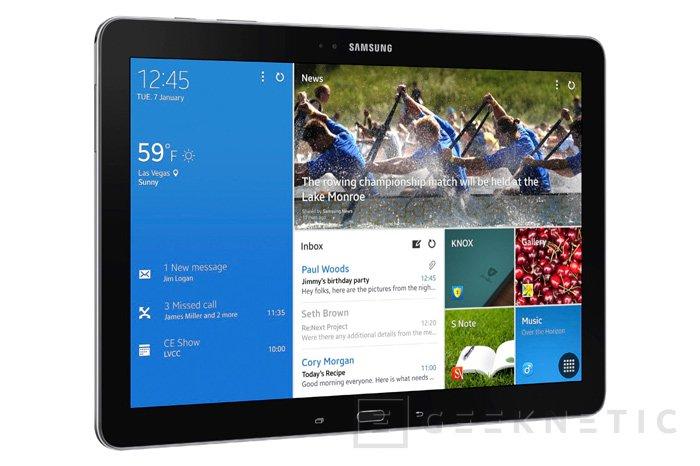 Samsung Galaxy NotePRO y TabPRO, nuevos tablets de gama alta, Imagen 1