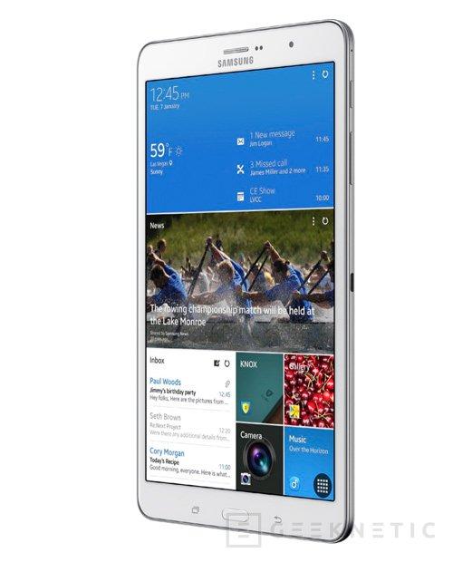 Samsung Galaxy NotePRO y TabPRO, nuevos tablets de gama alta, Imagen 2