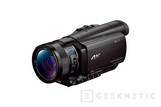 Sony Handycam AX100E 4K, la videocámara más pequeña con grabación 4K, Imagen 1