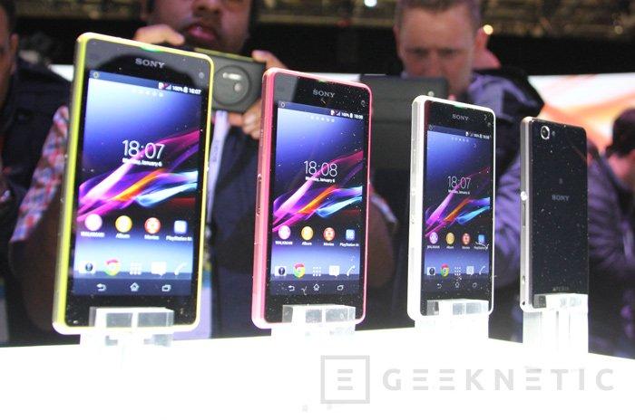 Sony Xperia Z1 Compact, un Z1 con tamaño reducido, Imagen 2