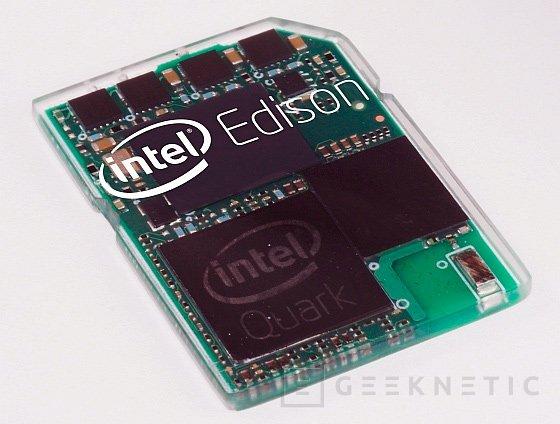 Intel Edison, mini PC con el tamaño y forma de una tarjeta SD, Imagen 1