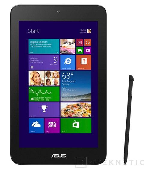 ASUS VivoTab Note 8, nuevo tablet con Windows 8.1, Imagen 1