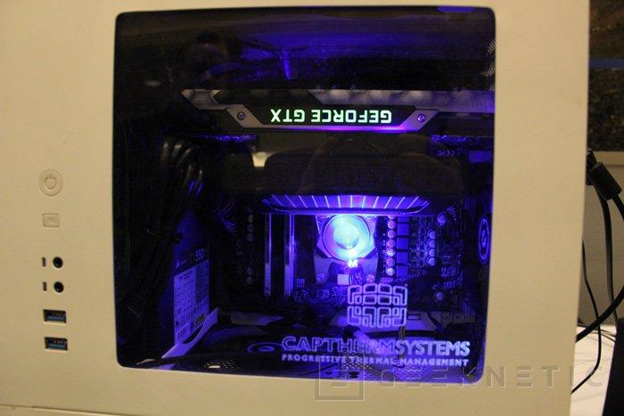 CAPTHERM MP1120, curioso sistema de refrigeración por ebullición, Imagen 2