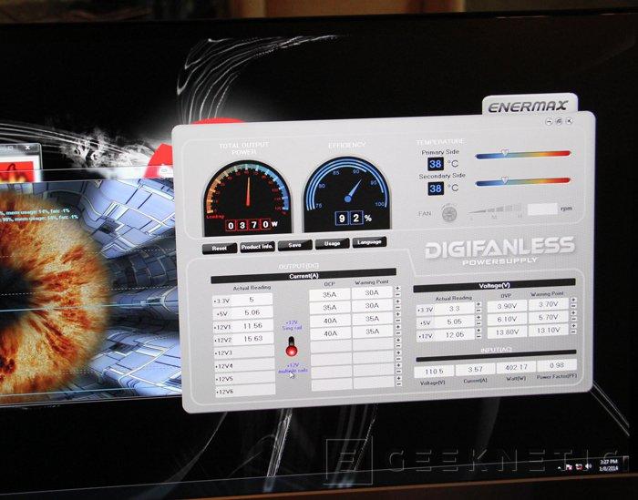 Enermax presenta su primera fuente digital y con refrigeración pasiva, Imagen 2