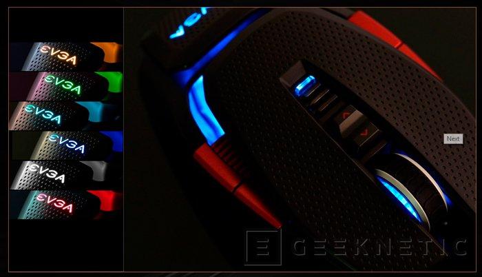 EVGA TORQ X10 Carbon, un ratón con fibra de carbono, Imagen 2
