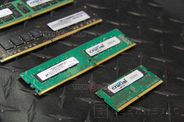 Crucial muestra módulos DDR4 para portátiles y sobremesa, Imagen 1