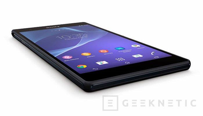 Sony Xperia T2 Ultra, smartphone de gran tamaño y gama media, Imagen 2