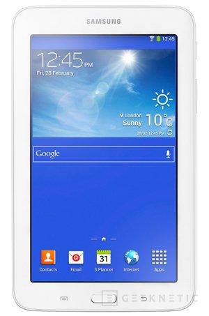 Galaxy Tab 3 Lite, un nuevo tablet para aumentar la familia Galaxy de Samsung, Imagen 1