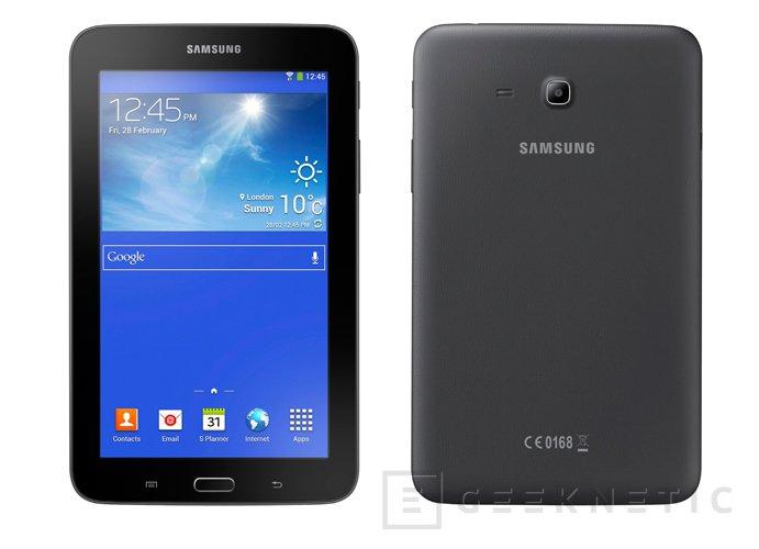 Galaxy Tab 3 Lite, un nuevo tablet para aumentar la familia Galaxy de Samsung, Imagen 2