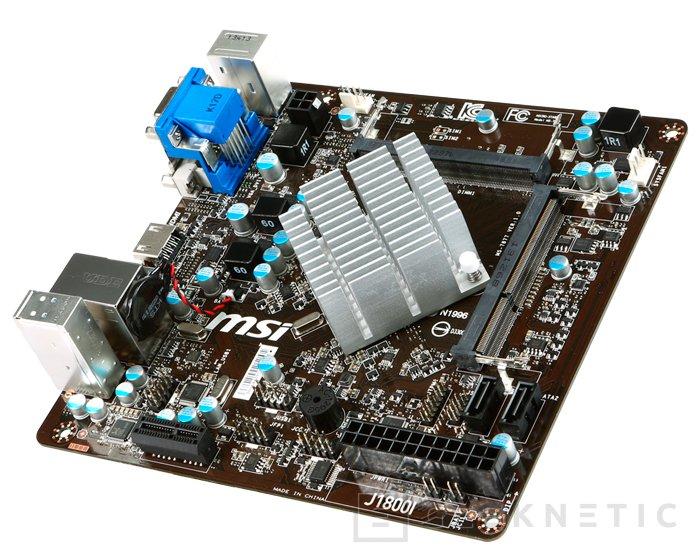 MSI J1800I, placa base con procesador integrado, Imagen 2