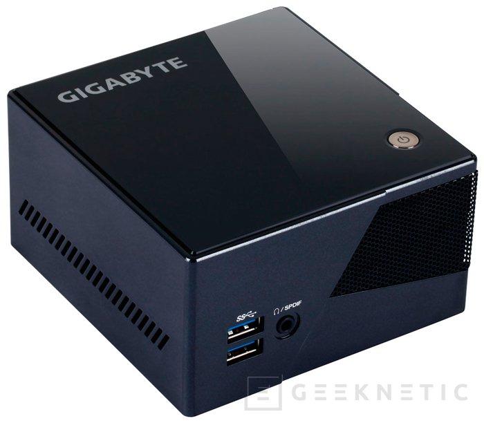 Gigabyte BRIX Pro, con gráfica Intel Iris Pro, Imagen 1