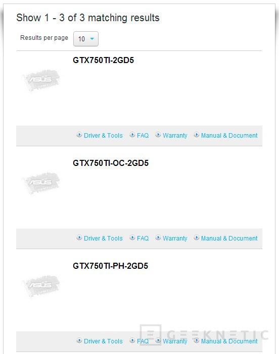 Aparece en una tienda una nueva ASUS GeForce GTX 750 Ti, Imagen 2
