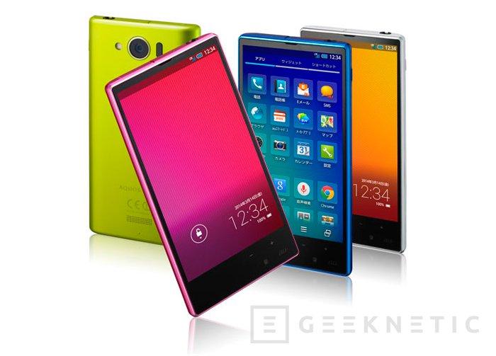 Sharp AQUOS mini SHL24, smartphone de 4.5