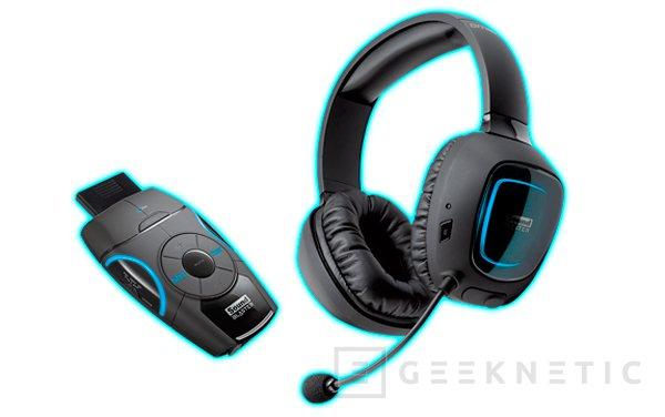 Creative Sound Blaster Recon3D Omega Wireless r2, auriculares inalámbricos con tarjeta de sonido USB, Imagen 1