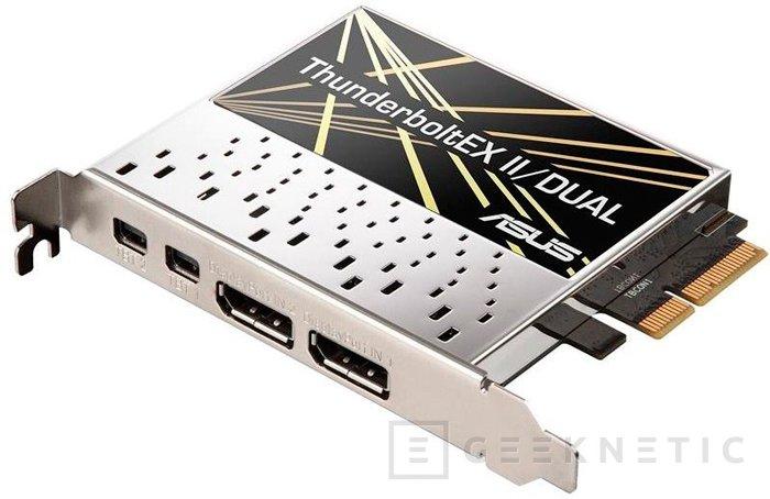 ASUS ThunderboltEX II, tarjeta PCI-Express para añadir soporte Thunderbolt II, Imagen 2
