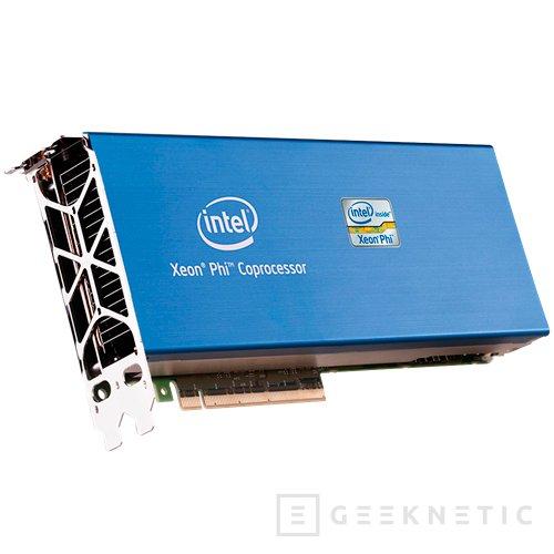 Intel Xeon Phi 7120, nuevo co-procesador de Intel por PCI-Express, Imagen 1
