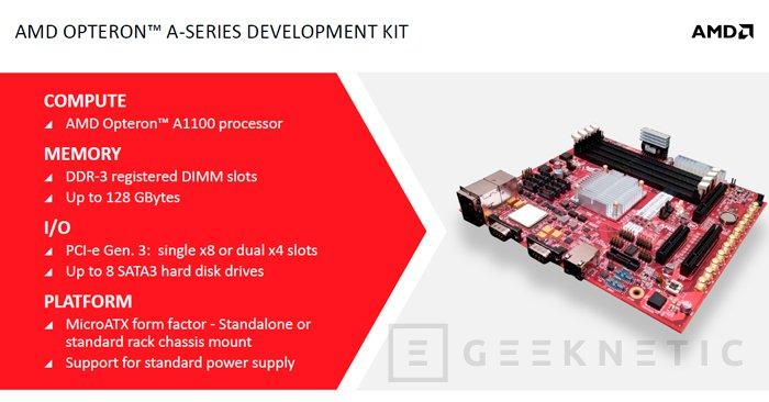 AMD presenta sus primeros procesadores con arquitectura ARM, Imagen 1