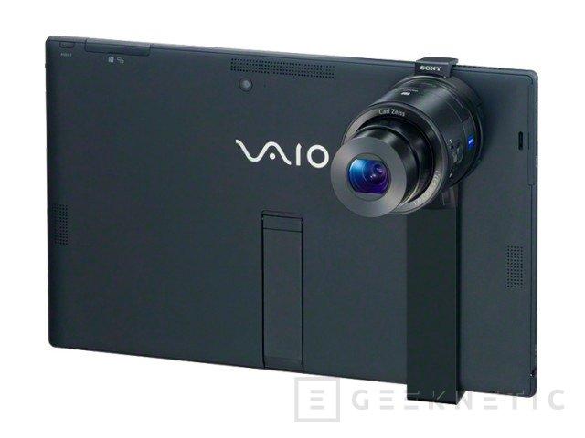 Sony lanza un accesorio para acoplar sus cámaras externas a un tablet, Imagen 2