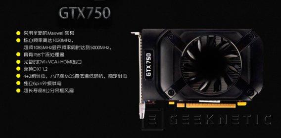 Filtradas más especificaciones de la primera GPU Maxwell de NVIDIA, Imagen 2