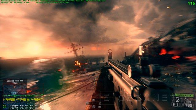 DICE desvela aumentos de rendimiento con MANTLE de hasta un 58% en Battlefield 4, Imagen 3