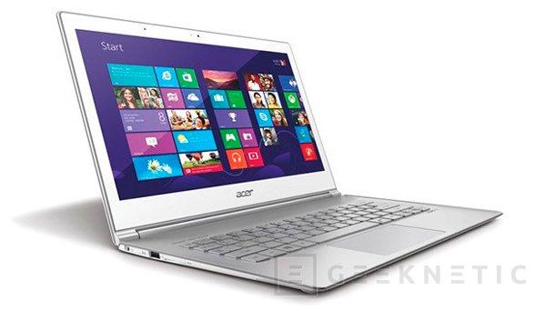 ACER actualiza su Ultrabook Aspire S7 con una pantalla de alta resolución, Imagen 2