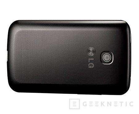 LG Optimus L1 II Tri, móvil asequible con soporte para 3 tarjetas SIM, Imagen 3