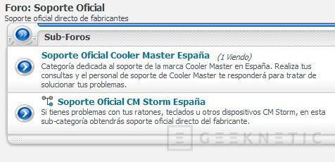 Cooler Master ahora da soporte oficial en el foro de HispaZone, Imagen 2