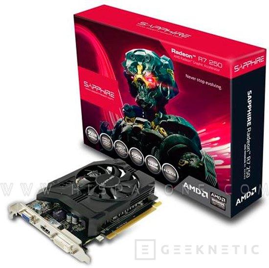 AMD Radeon R7 250X, nueva tarjeta gráfica para la gama media, Imagen 2
