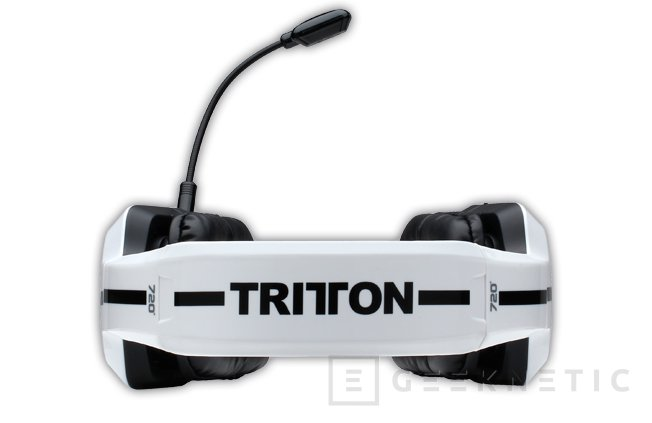 Mad Catz Tritton 720+ PC, nuevos auriculares con sonido envolvente, Imagen 2